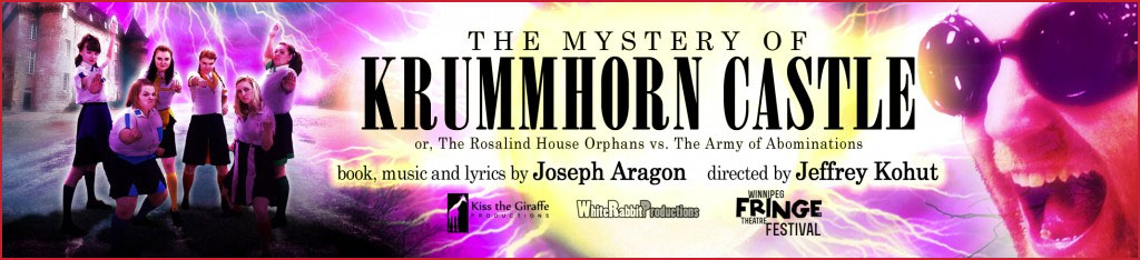 """Krummhorn Castle is """"a madcap, whip-smart and wildly entertaining production""""."""